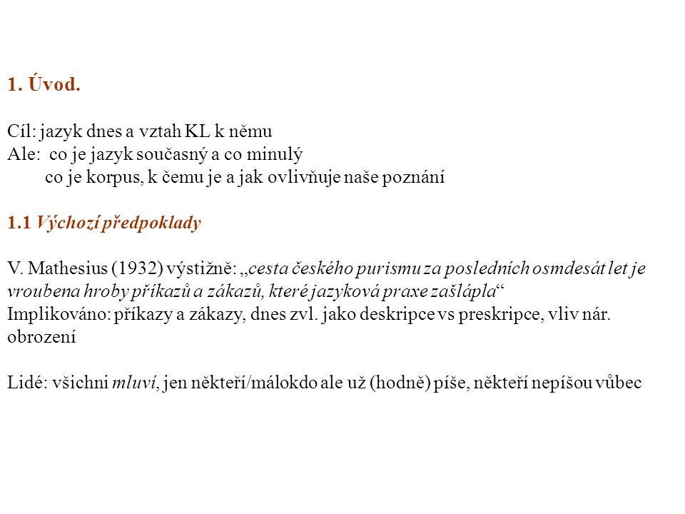 Východiska: 7 1-Základní je jazyk mluvený: dodnes nejsou jazyky zapsané všechny 2-Jaz.