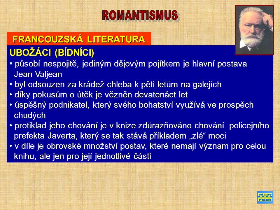 FRANCOUZSKÁ LITERATURA ALEXANDRE DUMAS (24.červen 1802 - 5.