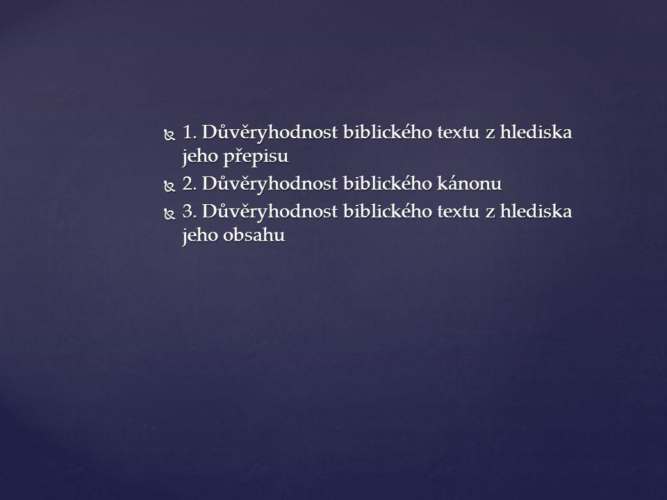 Jak byla psána  Období  Od Mojžíše po ap.Jana (c.