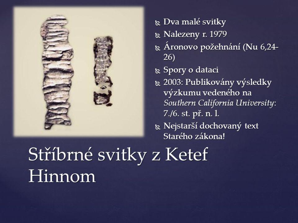 Méšova stéla (Moábský kámen)  Cca 835 př.n. l.