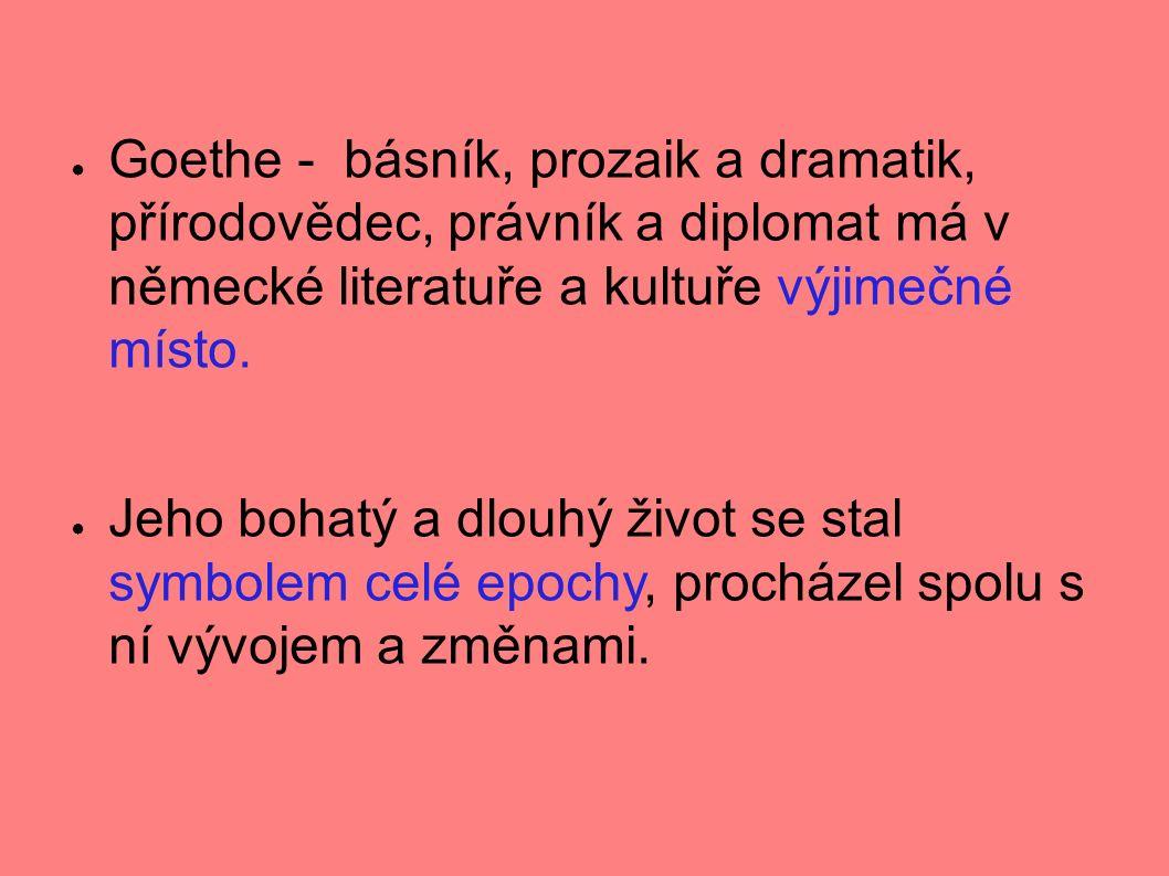 ● Goethe podrobně vylíčil duševní stavy člověka trýzněného nenaplněnou láskou ● Množství citoslovcí, zvolání, přerývaných vět vlnu sebevražd ● Román se ve své době stal bestsellerem, dokonce vyvolal vlnu sebevražd po celé Evropě ● Goethe dokonale vystihl pocity mladých lidí tehdejší doby, sám však byl jejich reakcí zdrcen