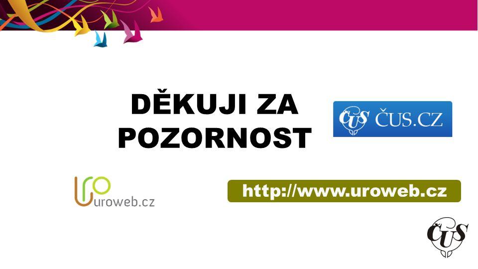 DĚKUJI ZA POZORNOST http://www.uroweb.cz
