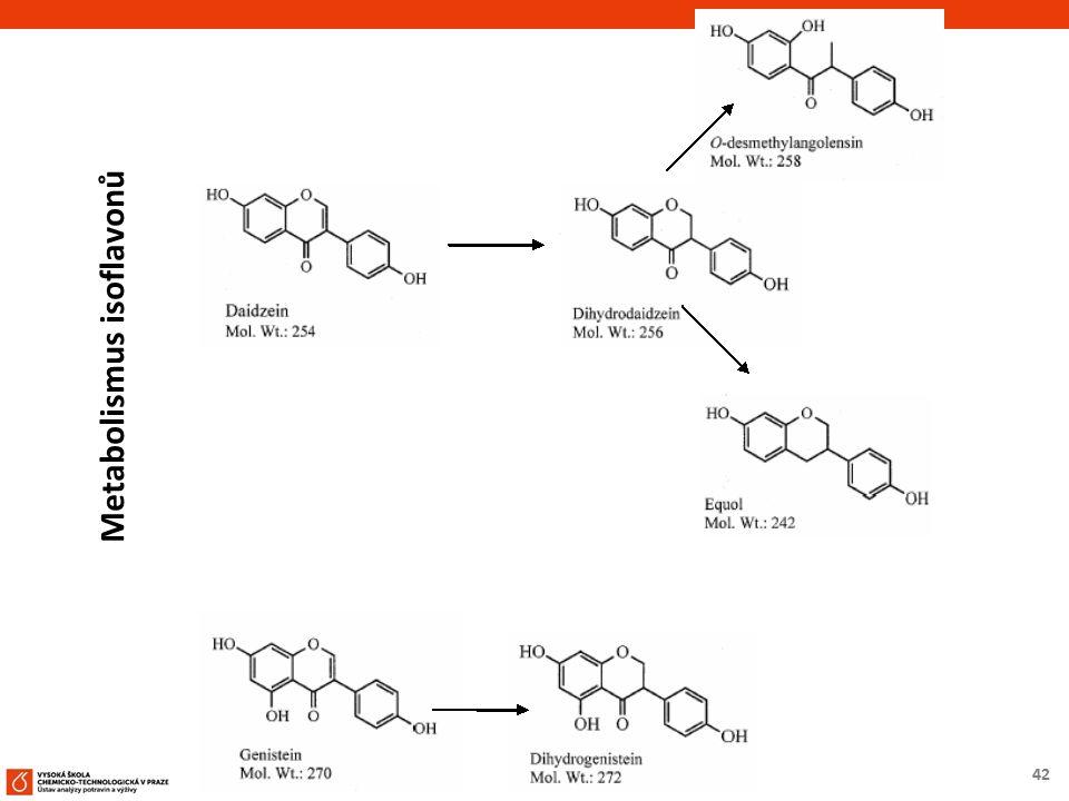 42 Metabolismus isoflavonů