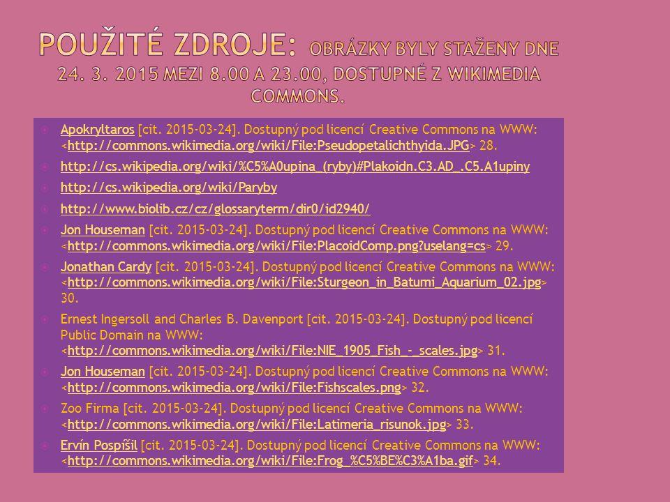  Apokryltaros [cit. 2015-03-24]. Dostupný pod licencí Creative Commons na WWW: 28.