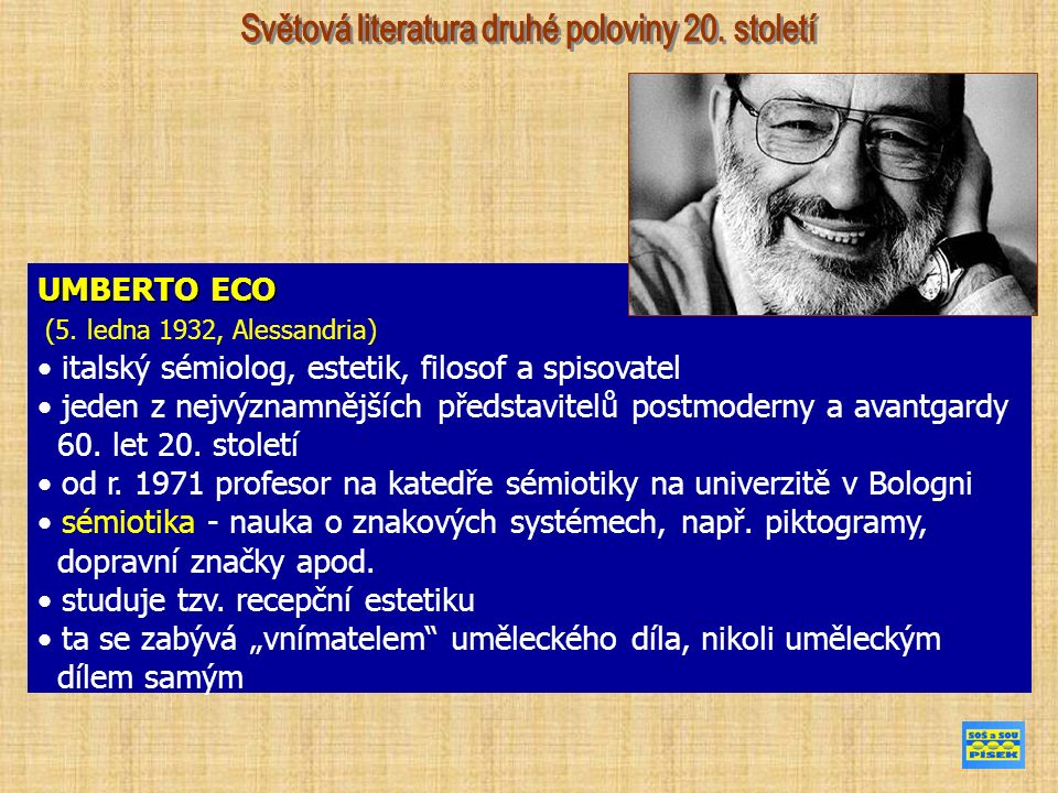 UMBERTO ECO (5.