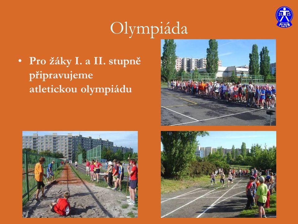 Olympiáda Pro žáky I. a II. stupně připravujeme atletickou olympiádu