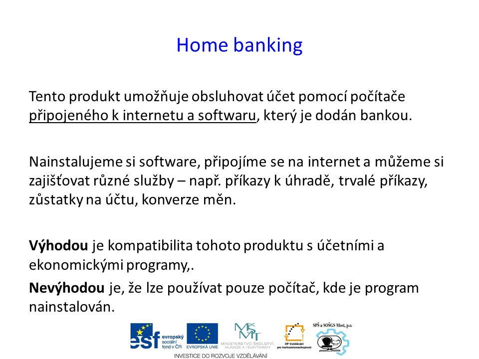 Rizika při využívání kanálů přímého bankovnictví Chyba z nepozornosti – např.