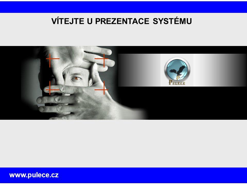 VÍTEJTE U PREZENTACE SYSTÉMU www.pulece.cz