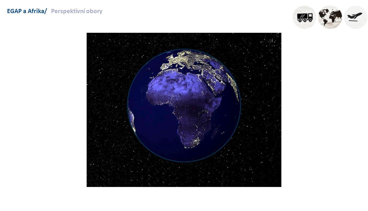 EGAP a Afrika/Perspektivní obory