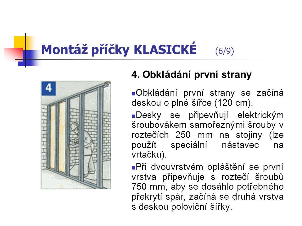 Montáž příčky KLASICKÉ (5/9) 3.
