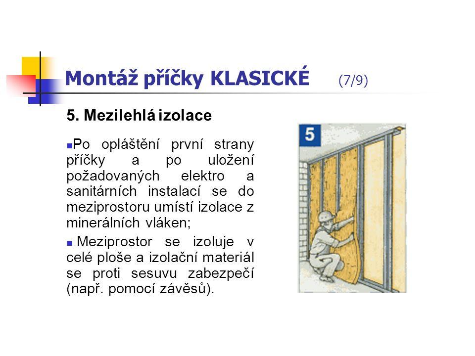 Montáž příčky KLASICKÉ (6/9) 4.