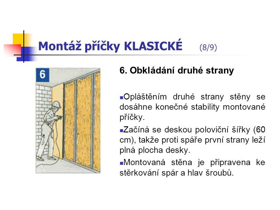 Montáž příčky KLASICKÉ (7/9) 5.