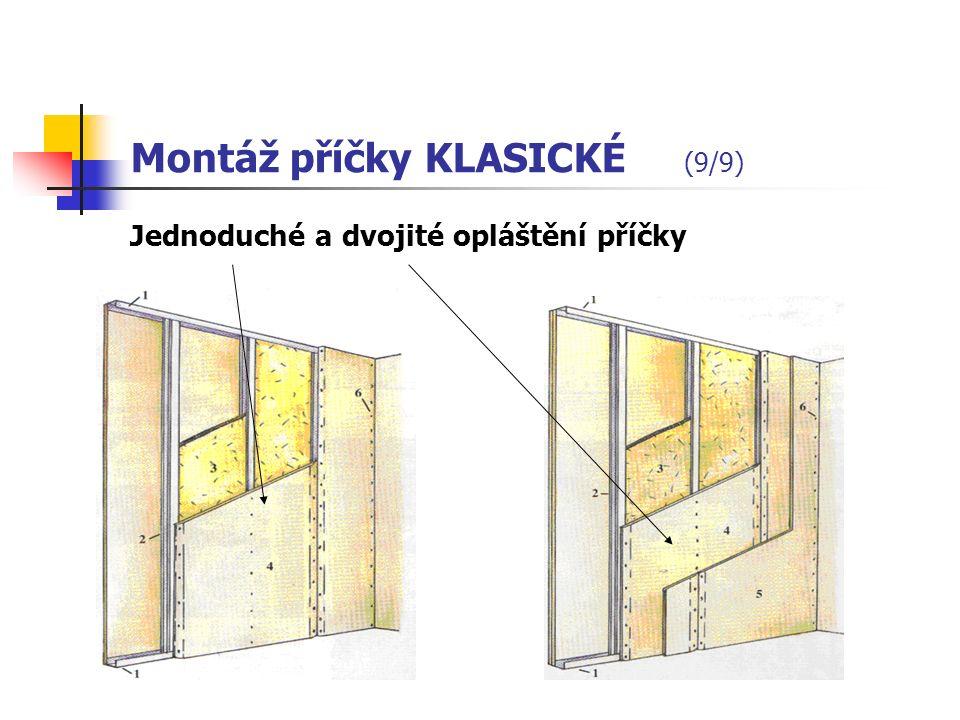 Montáž příčky KLASICKÉ (8/9) 6.