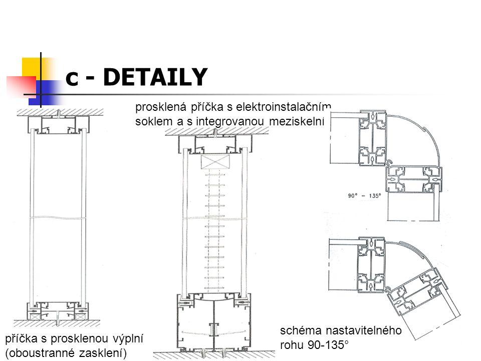 c - konstrukční schéma