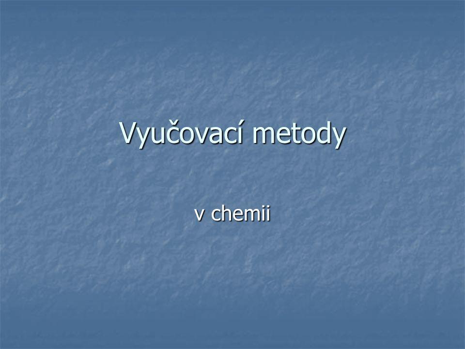 Vyučovací metody v chemii