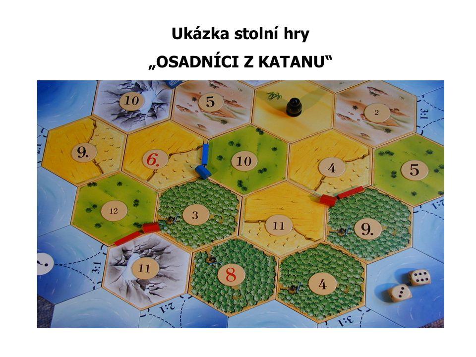 """Ukázka stolní hry """"OSADNÍCI Z KATANU"""