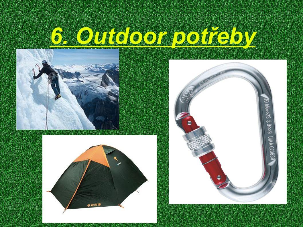 6. Outdoor potřeby