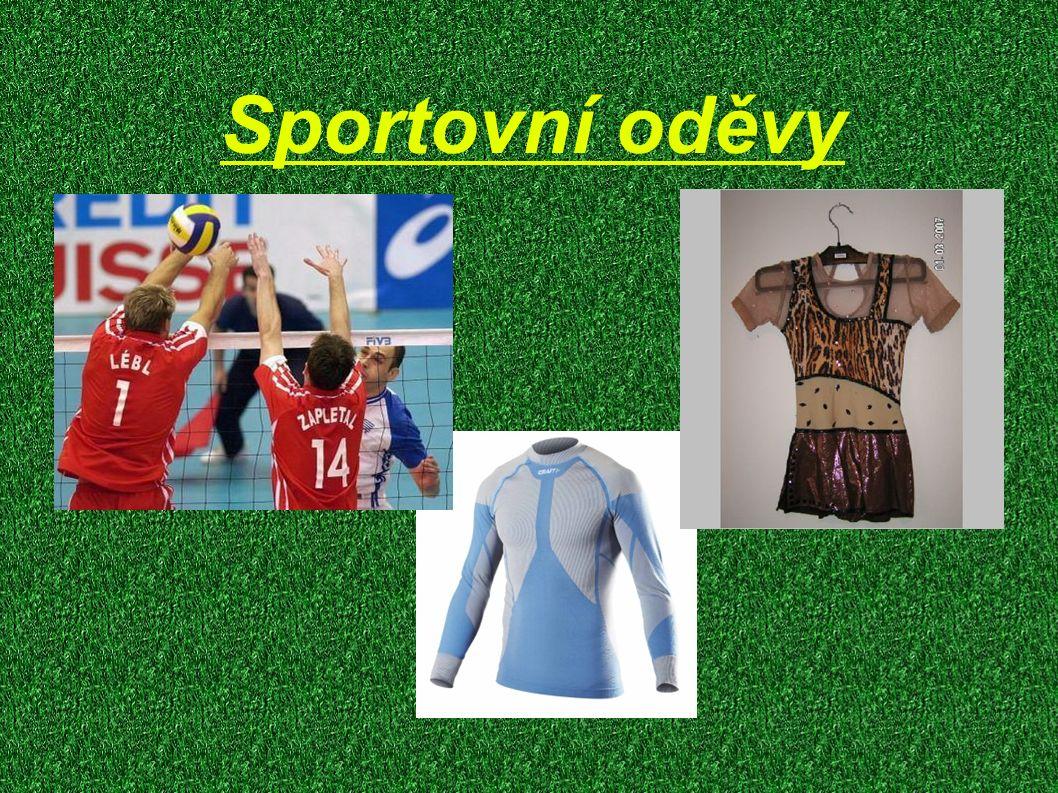 Sportovní oděvy