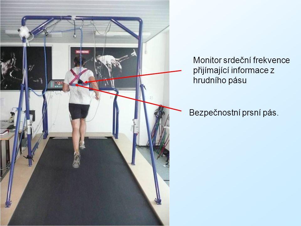 Monitor srdeční frekvence přijímající informace z hrudního pásu Bezpečnostní prsní pás.