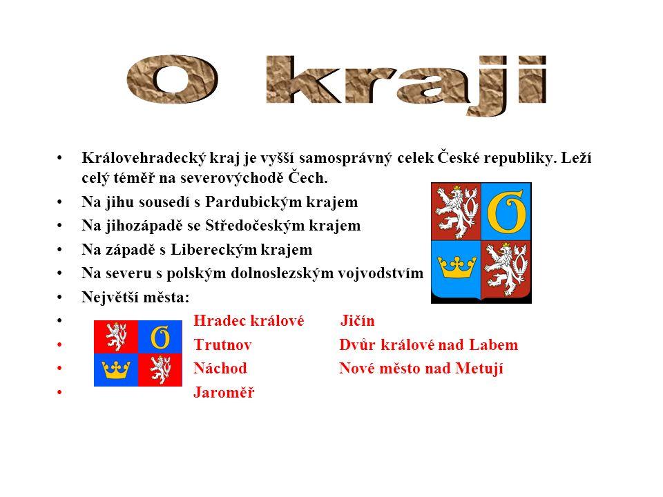 Královehradecký kraj je vyšší samosprávný celek České republiky. Leží celý téměř na severovýchodě Čech. Na jihu sousedí s Pardubickým krajem Na jihozá