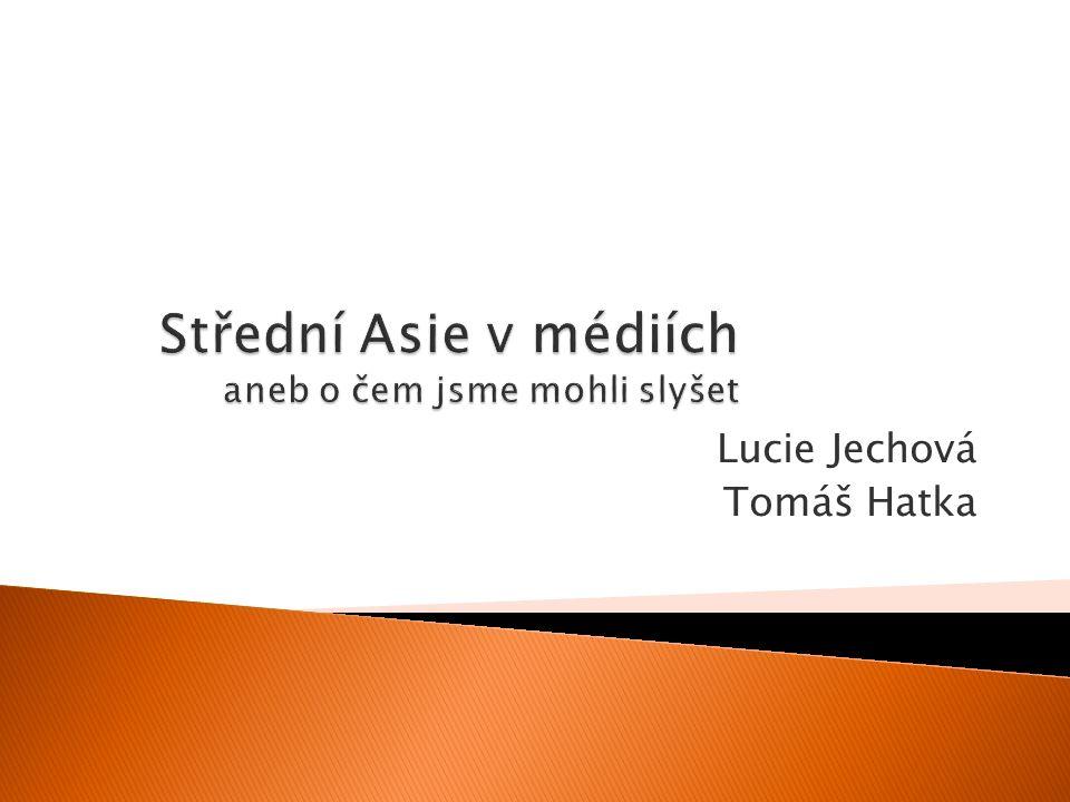 Lucie Jechová Tomáš Hatka