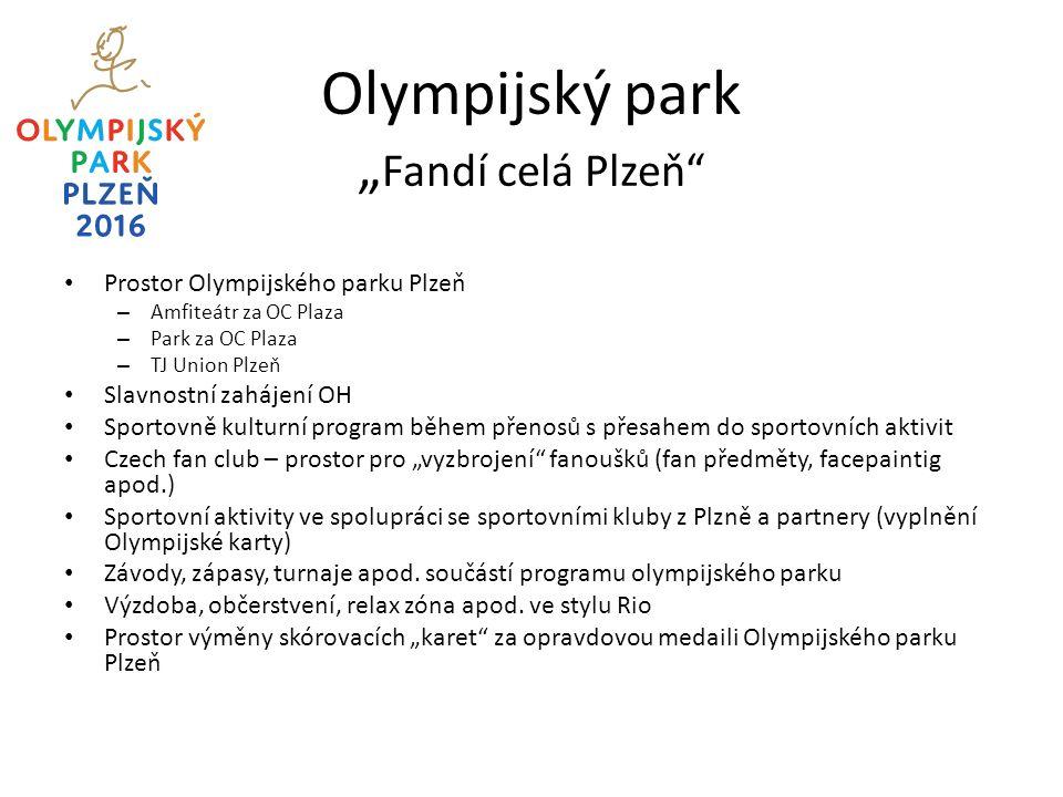 Sportovní sektory olympijského parku