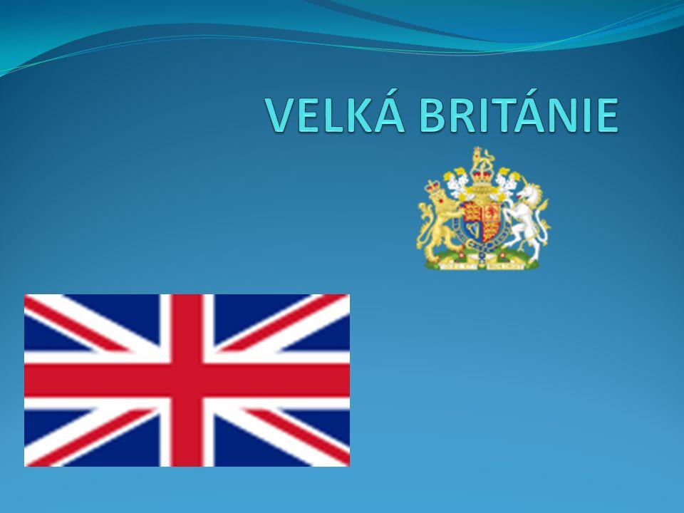 Velká británie ( Anglie ) Hlavní město je Londýn ( 6 970 000 obyvatel ).