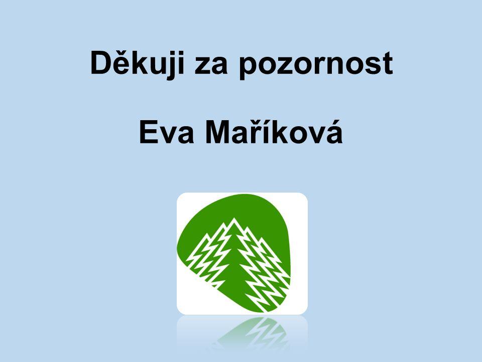 Děkuji za pozornost Eva Maříková