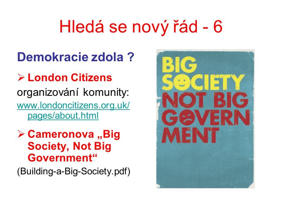 Hledá se nový řád - 6 Demokracie zdola .
