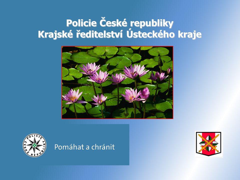 Policie České republiky Krajské ředitelství Ústeckého kraje
