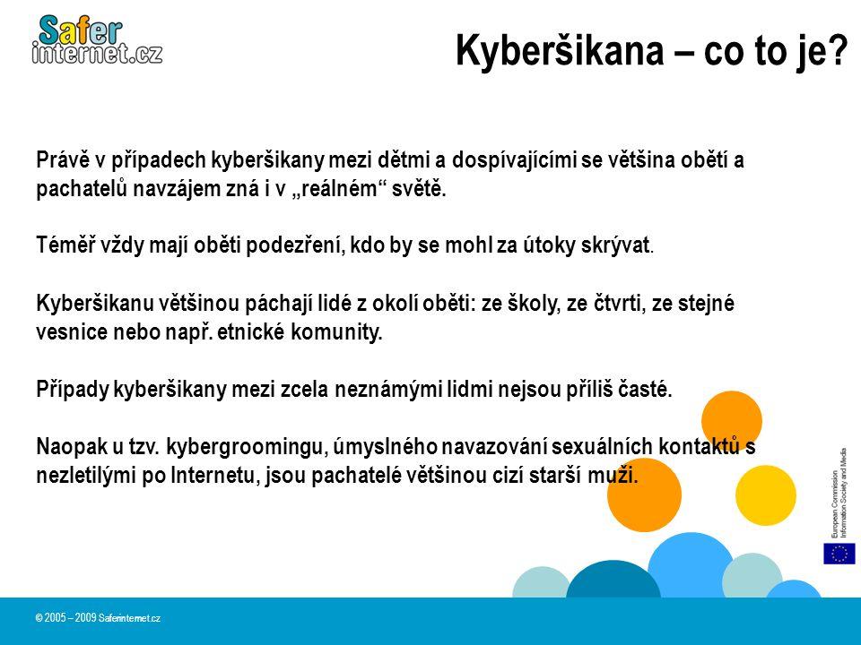 Kyberšikana ve škole 2,3 % dětí se přiznalo k tomu, že se někdy aktivně podílelo na kyberšikaně namířené proti učiteli.