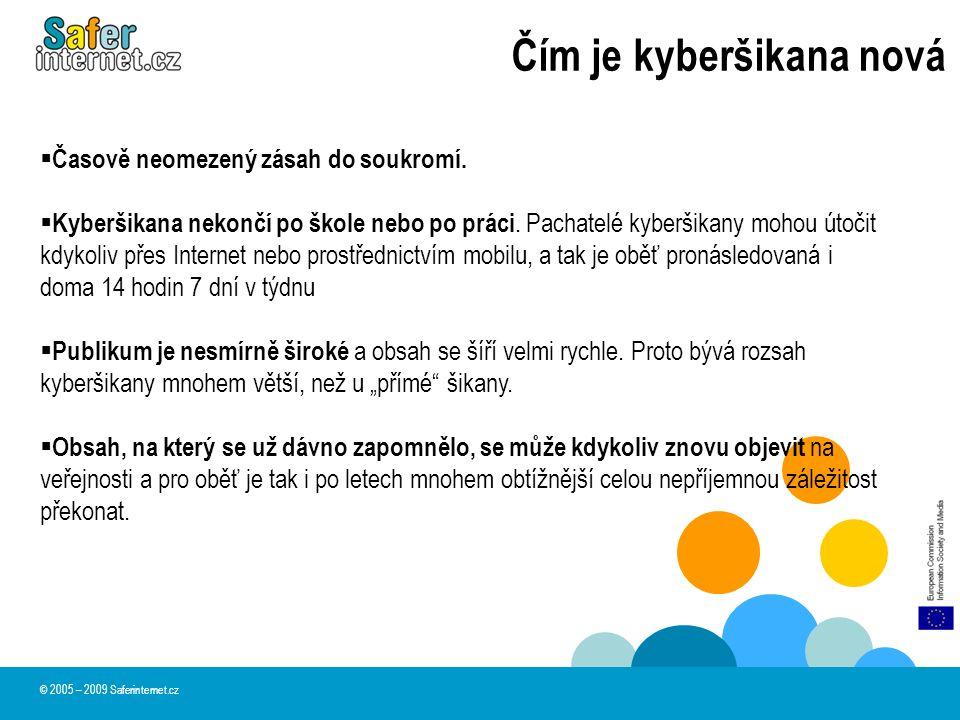 Principy kyberšikany Uvolnění : Kyberšikana slouží jako ventil nahromaděné agrese.