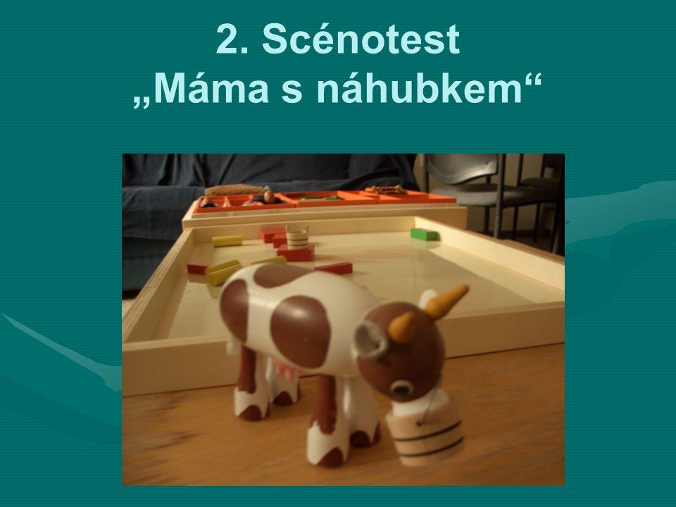 """2. Scénotest """"Máma s náhubkem"""