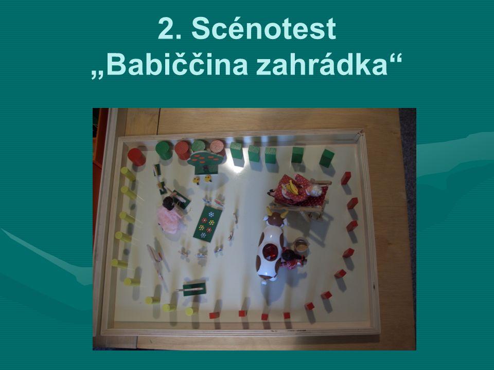 """2. Scénotest """"Babiččina zahrádka"""