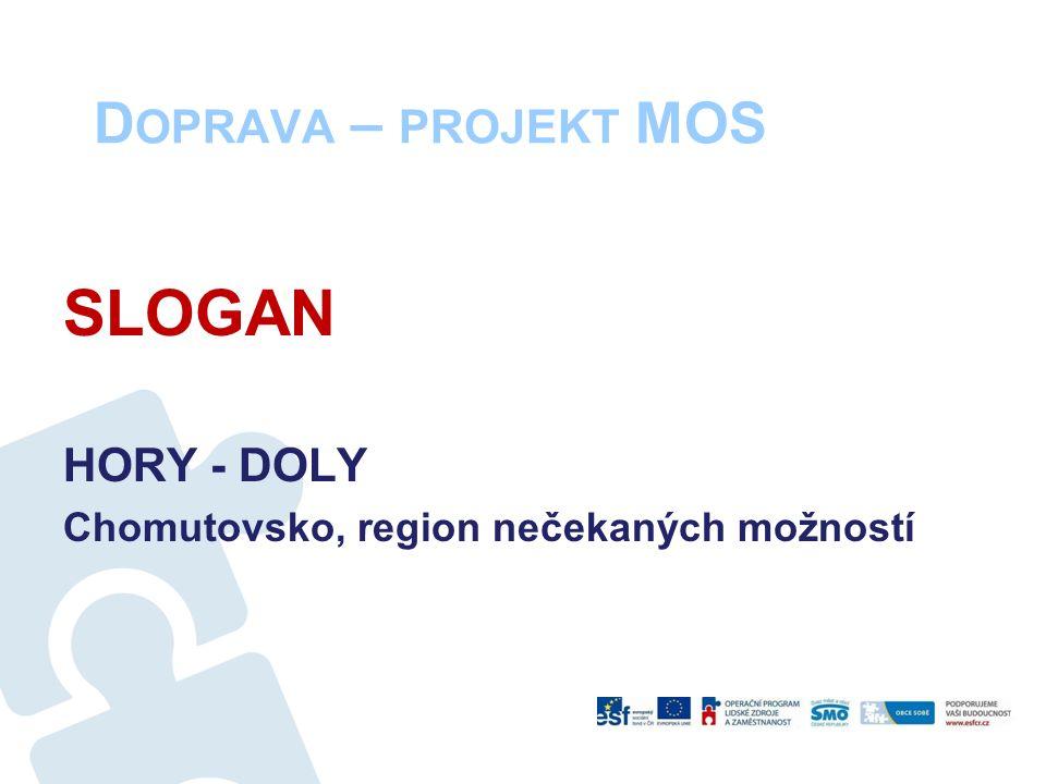 D OPRAVA – PROJEKT MOS SLOGAN HORY - DOLY Chomutovsko, region nečekaných možností