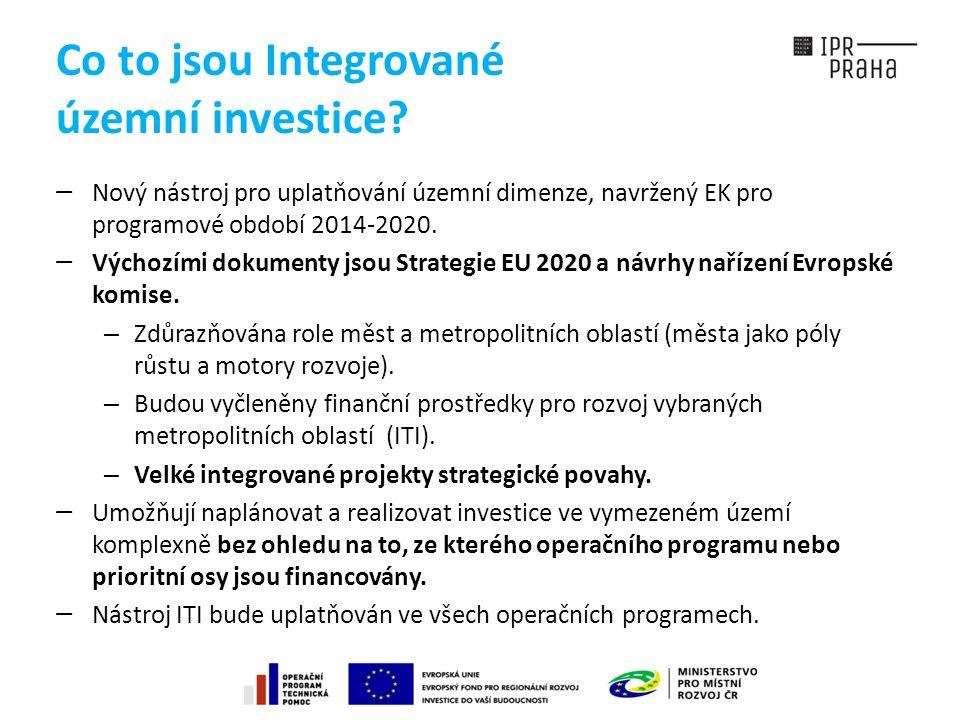 Co to jsou Integrované územní investice.