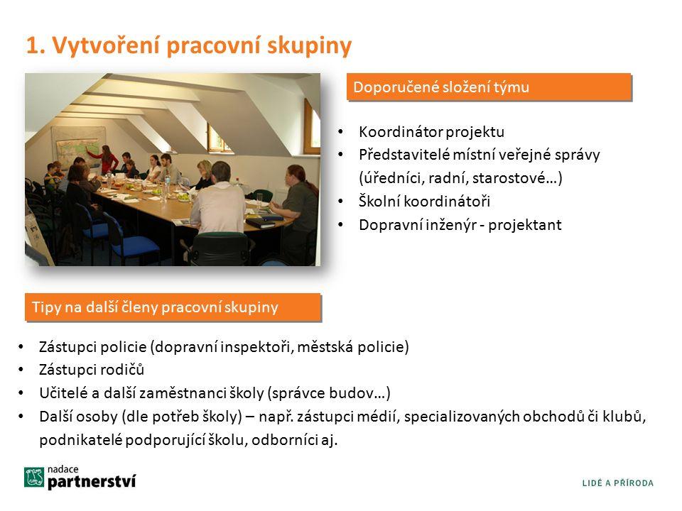 2.Identifikace dopravních problémů Konsensus v pracovní skupině Všeobecně známé skutečnosti (např.