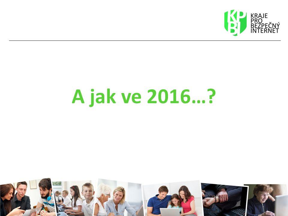 A jak ve 2016…