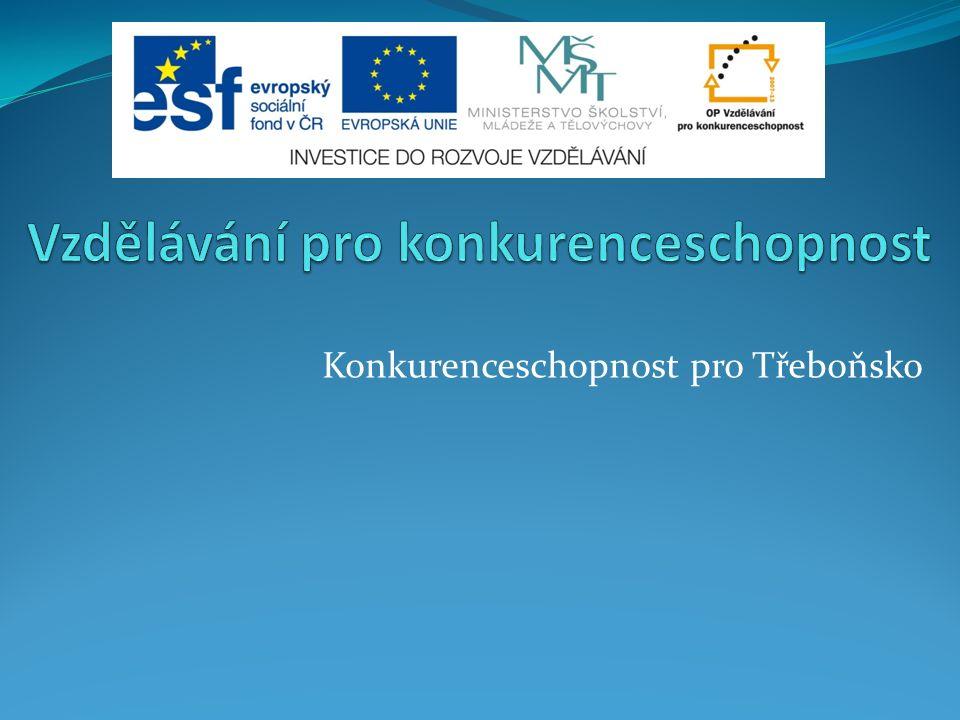 Konkurenceschopnost pro Třeboňsko