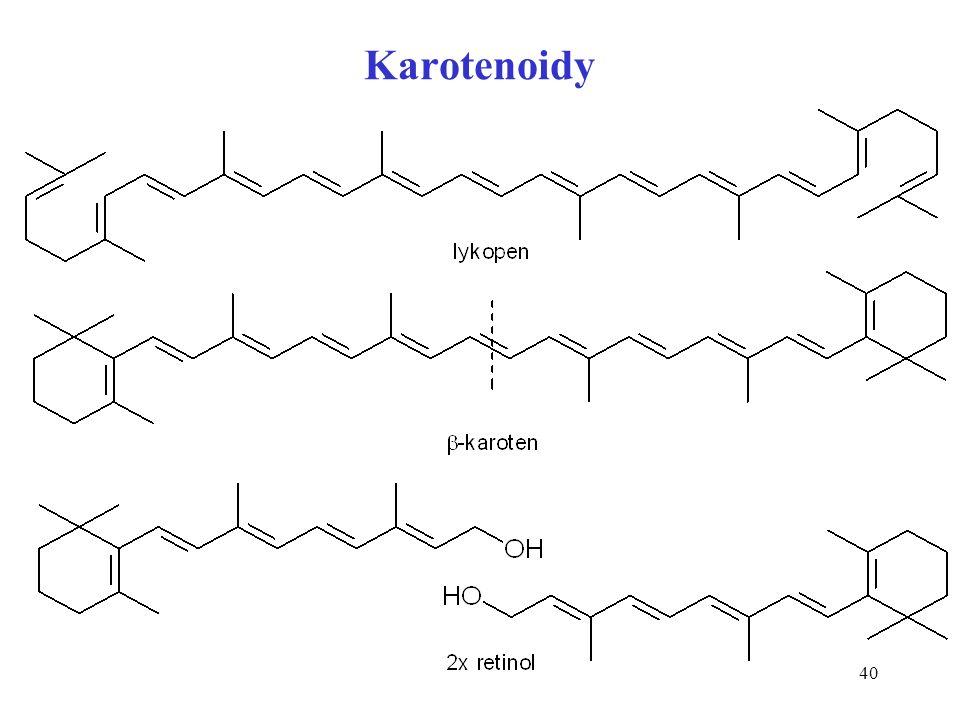 40 Karotenoidy