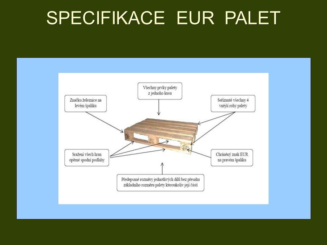SPECIFIKACE EUR PALET
