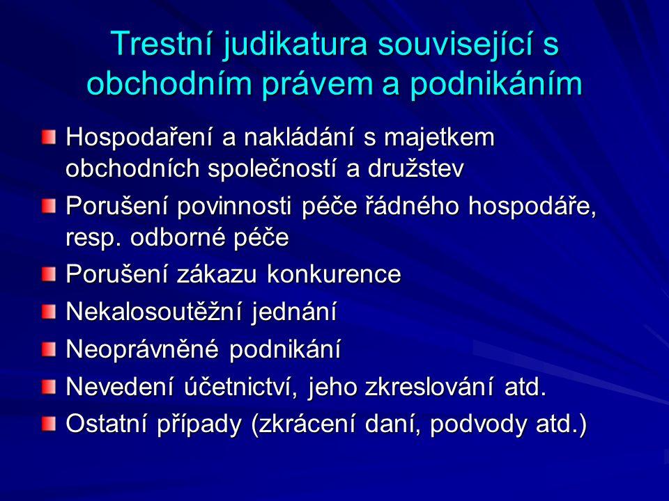 Hospodaření a nakládání s majetkem obch.spol.
