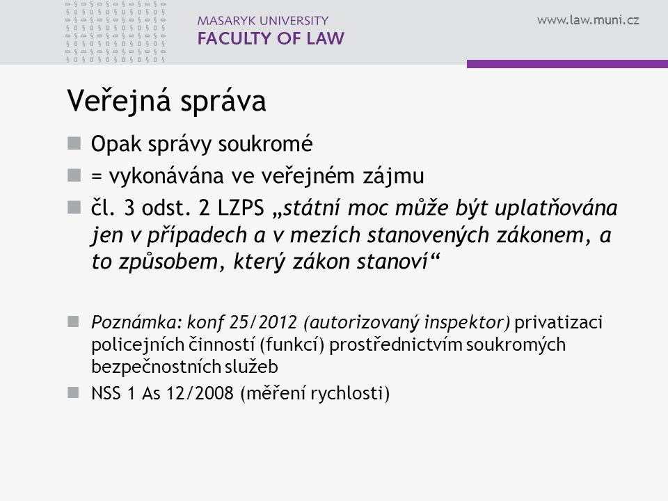 www.law.muni.cz Příklad členění – statutární město Brno Zápatí prezentace35
