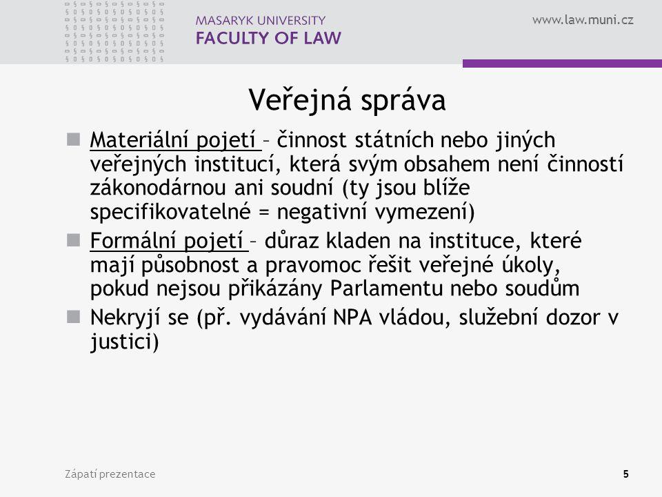 www.law.muni.cz Orgány obcí 1.Zastupitelstvo 2. Rada 3.