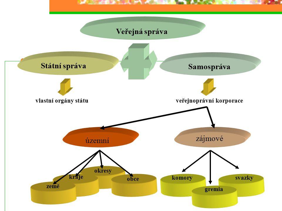 Vývoj (transformace) VS v ČR Prakticky neexistence orgánů veřejné samosprávy Národní výbory – orgány státu Do 1990
