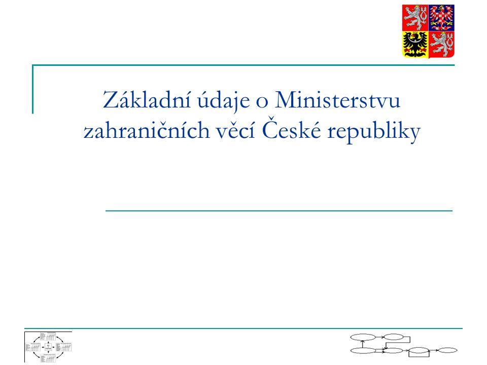 Základní údaje o Ministerstvu zahraničních věcí České republiky