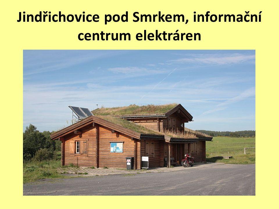 Jindřichovice pod Smrkem, informační centrum elektráren