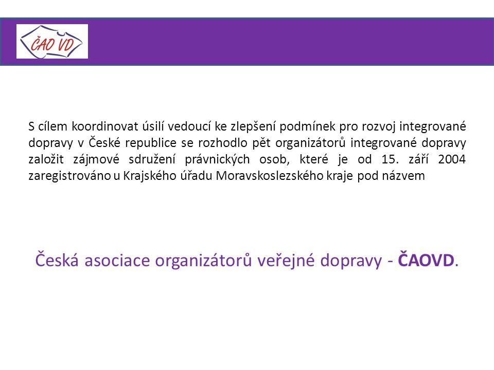 Česká asociace organizátorů veřejné dopravy - ČAOVD.