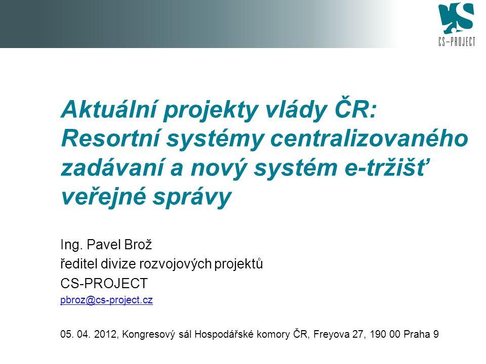 A.Minimální požadavky na vytvoření a provoz RS CZ schválené vládou ČR - 2-