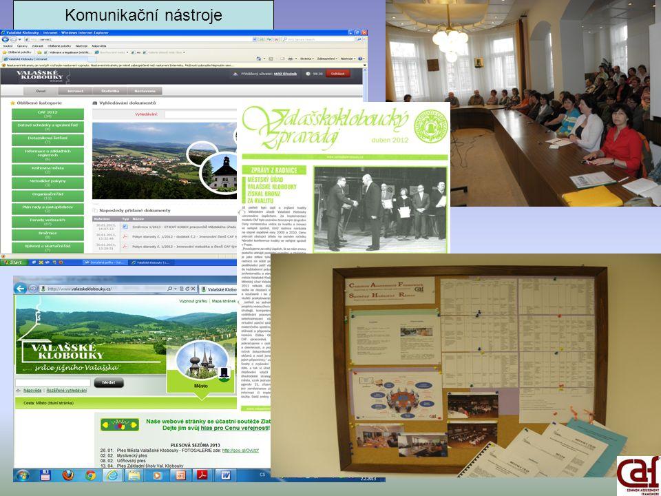 Komunikační nástroje